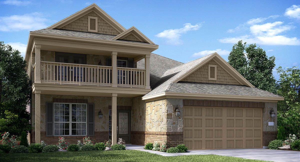 Terrazzo 3754 Brick New Home Plan in Walnut Creek - Southwest ...