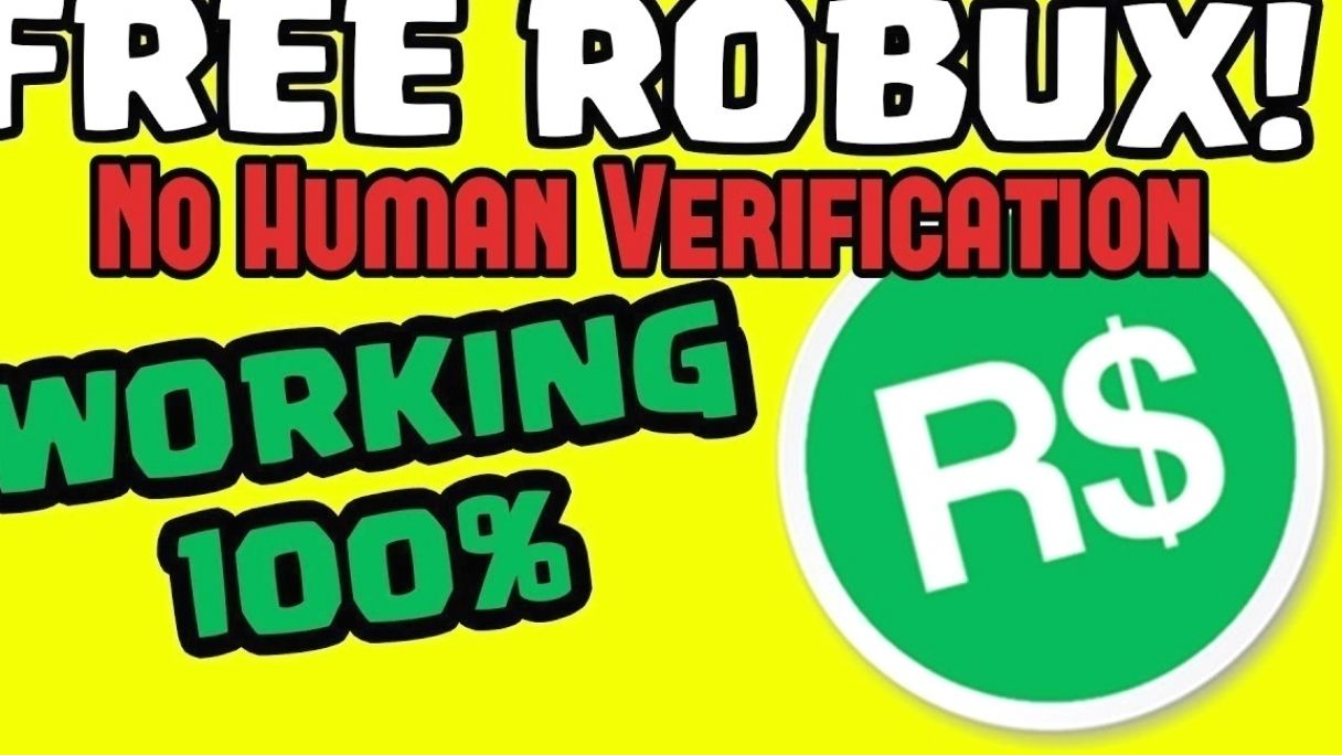 Get Free Robux On Roblox No Human Verification 2019 Youtube Roblox How To Get Free