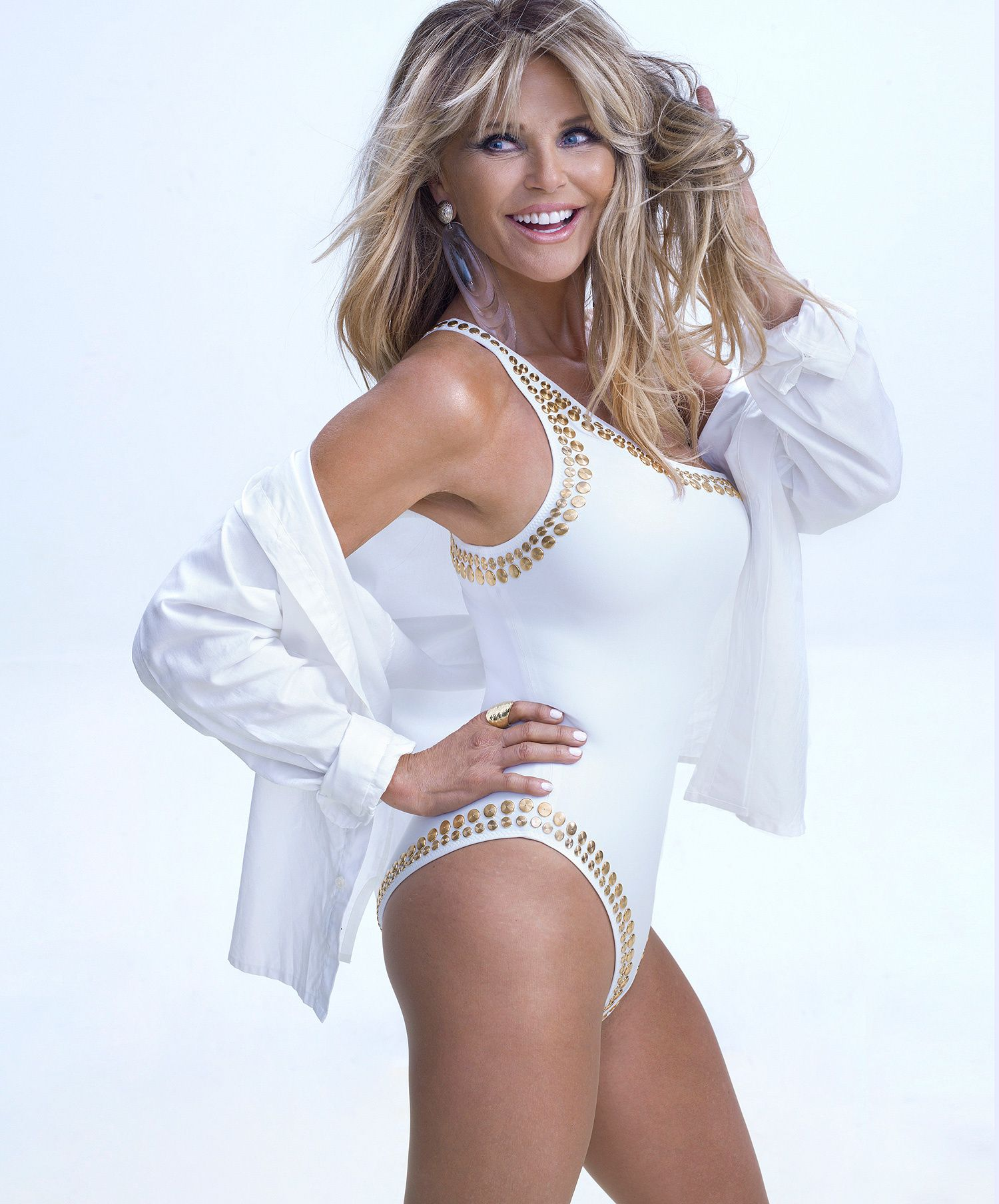 a805c836a4 Naked and Not Afraid! Christie Brinkley