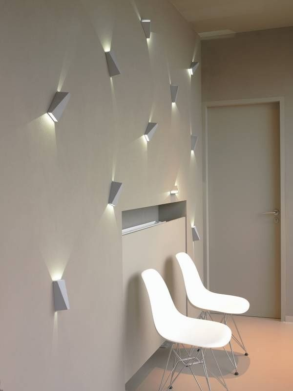 Forthehome Cc Delta Light White Wall Lights Wall Lighting Design