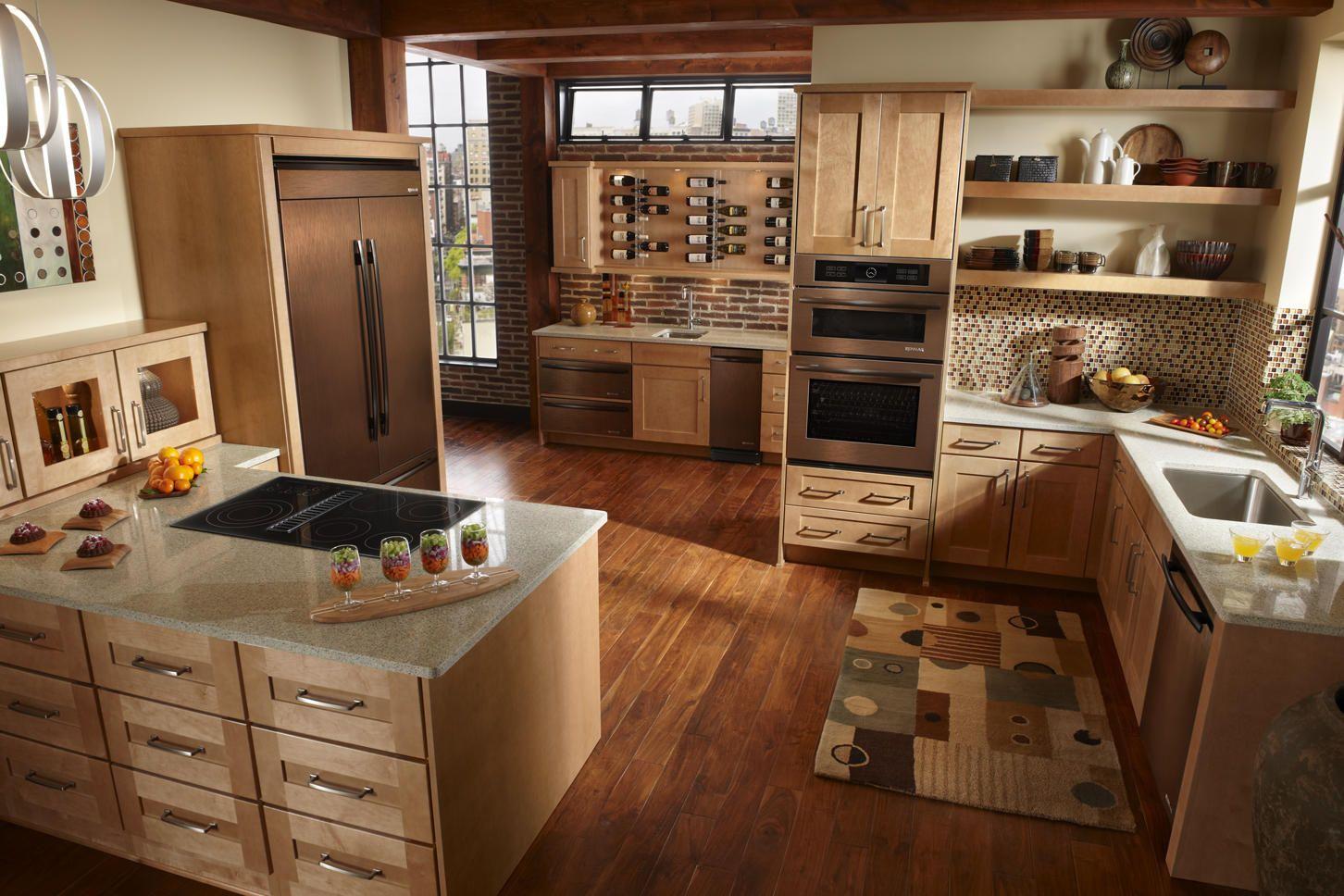bronze kitchen appliances - Google Search | New Appliance Colors ...