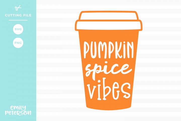 Pumpkin Spice Vibes Svg Dxf Eps Png 131732 Svgs Design Bundles