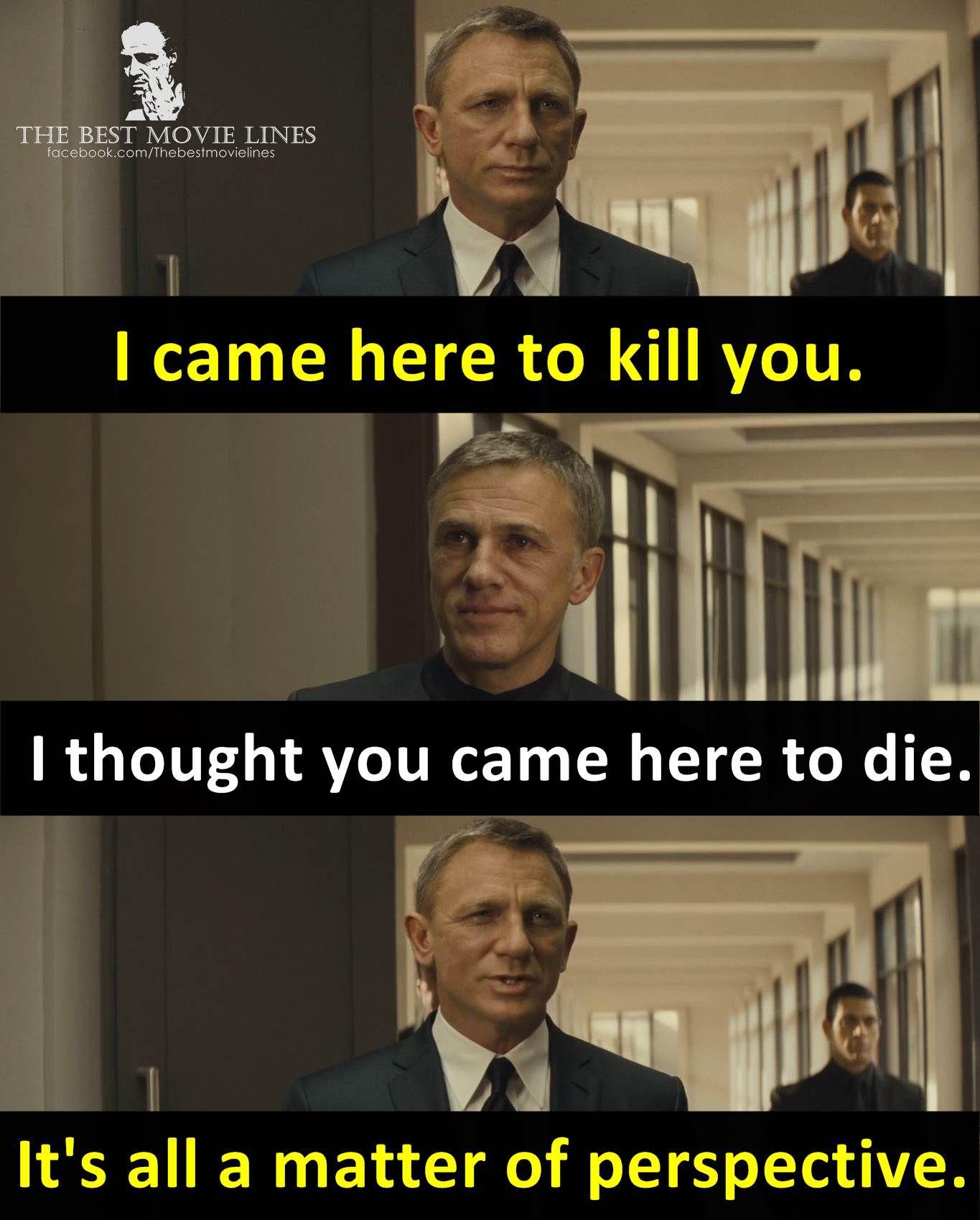 Daniel Craig And Christoph Waltz In Spectre 2015 James Bond Quotes All James Bond Movies Daniel Craig James Bond
