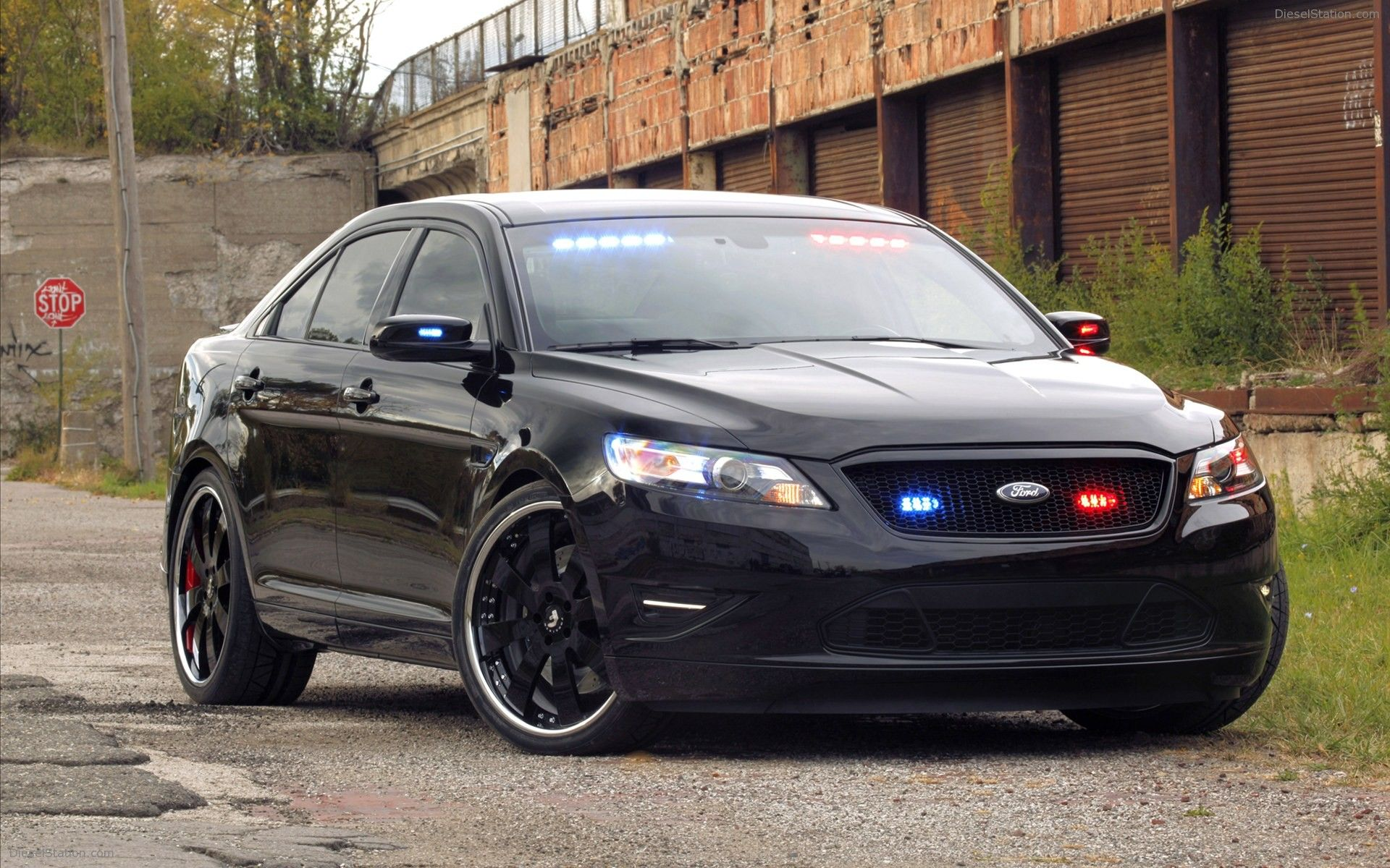 Ford Stealth Police Interceptor Concept 2010 Ford Police Ford