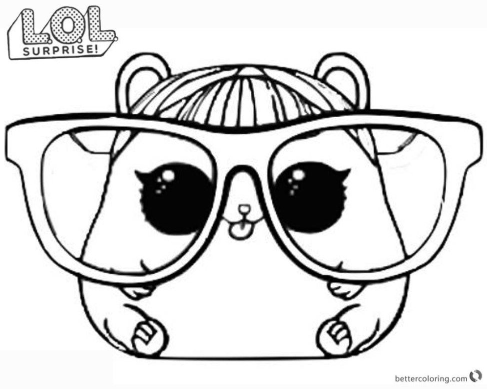 Cherry Lol Doll Coloring Pages Portraits
