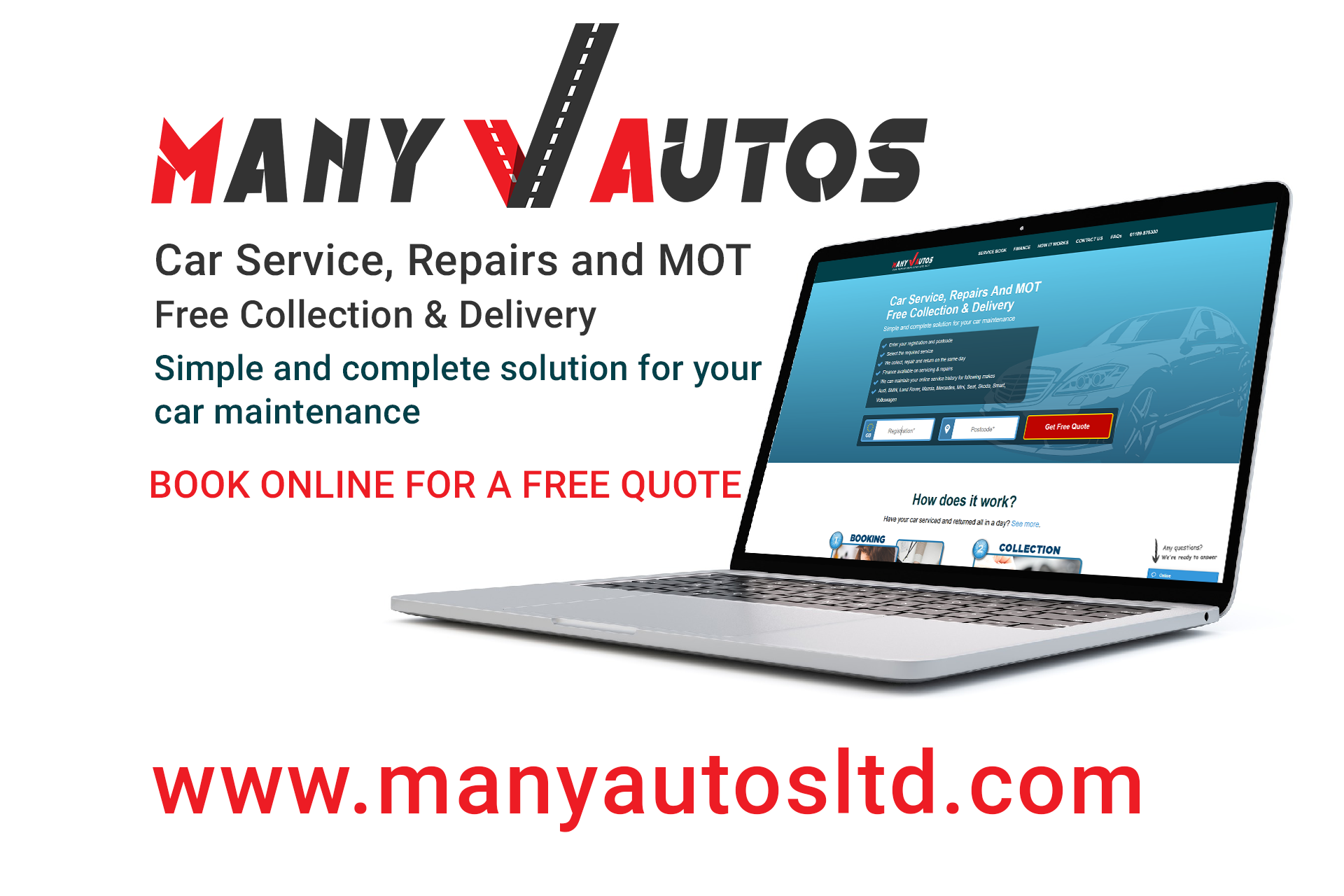 Many Autos is a simple and complete solution for your car