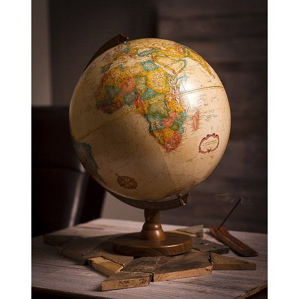 Photo by c_thelove home decor globe antique