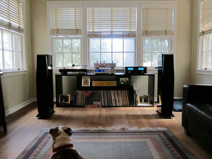 Home Music Listening Room