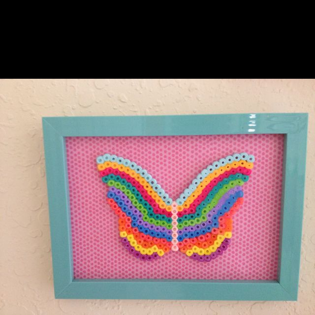 Great use for melty bead art!