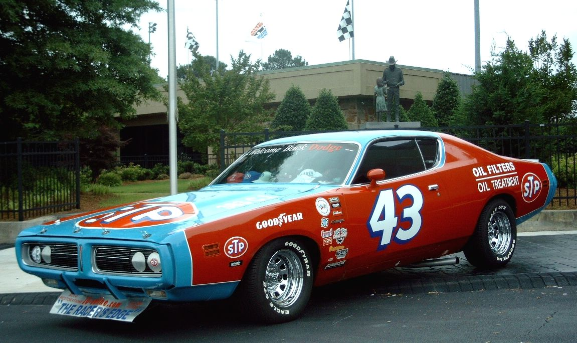 1971 Dodge Charger Nascar From Richard Petty Nascar Race Cars