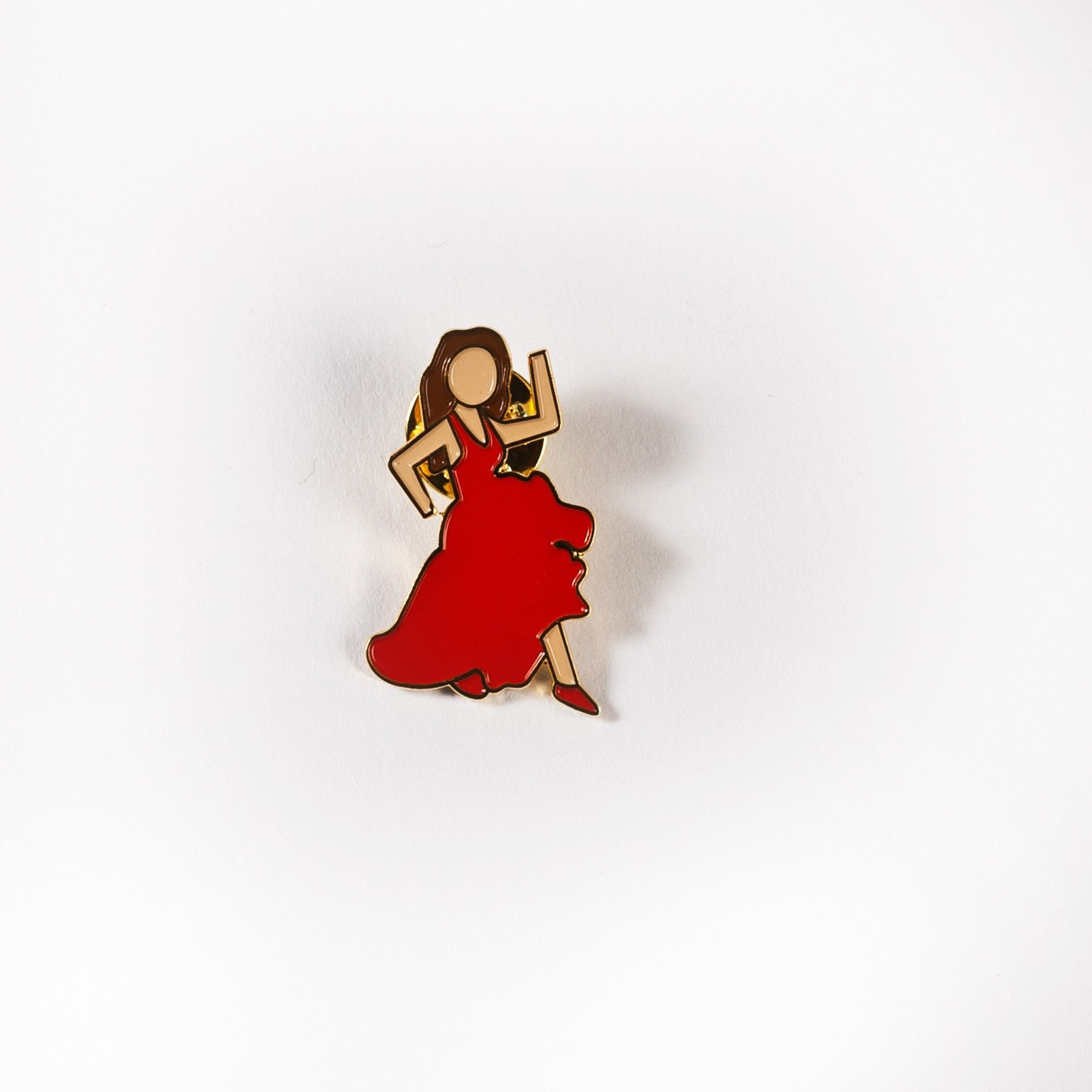 Salsa Girl Emoji Enamel Pin For Her Gifting Girl Emoji Enamel Pins Emoji