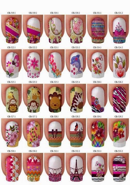 uñas personalizadas, decoraciones de uñas, fotos de uñas decoradas,
