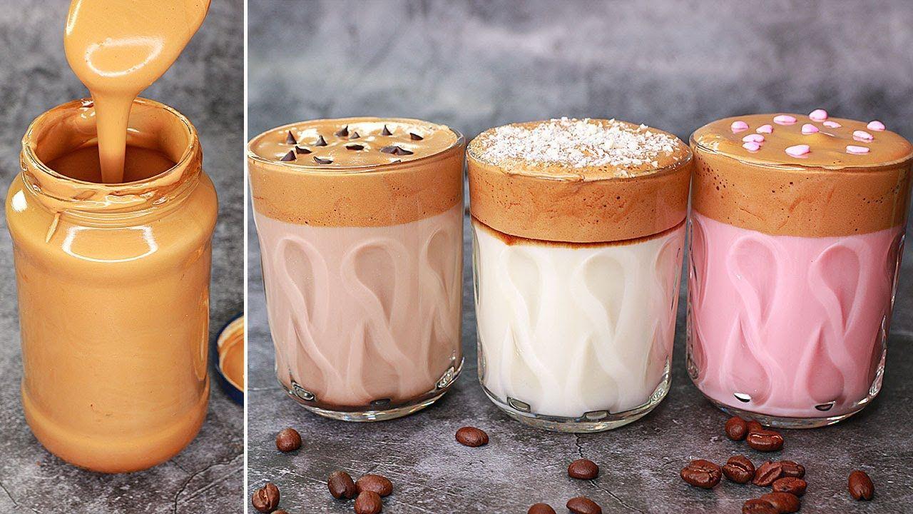 Dalgona Coffee How To Make Dalgona Coffee No Machine