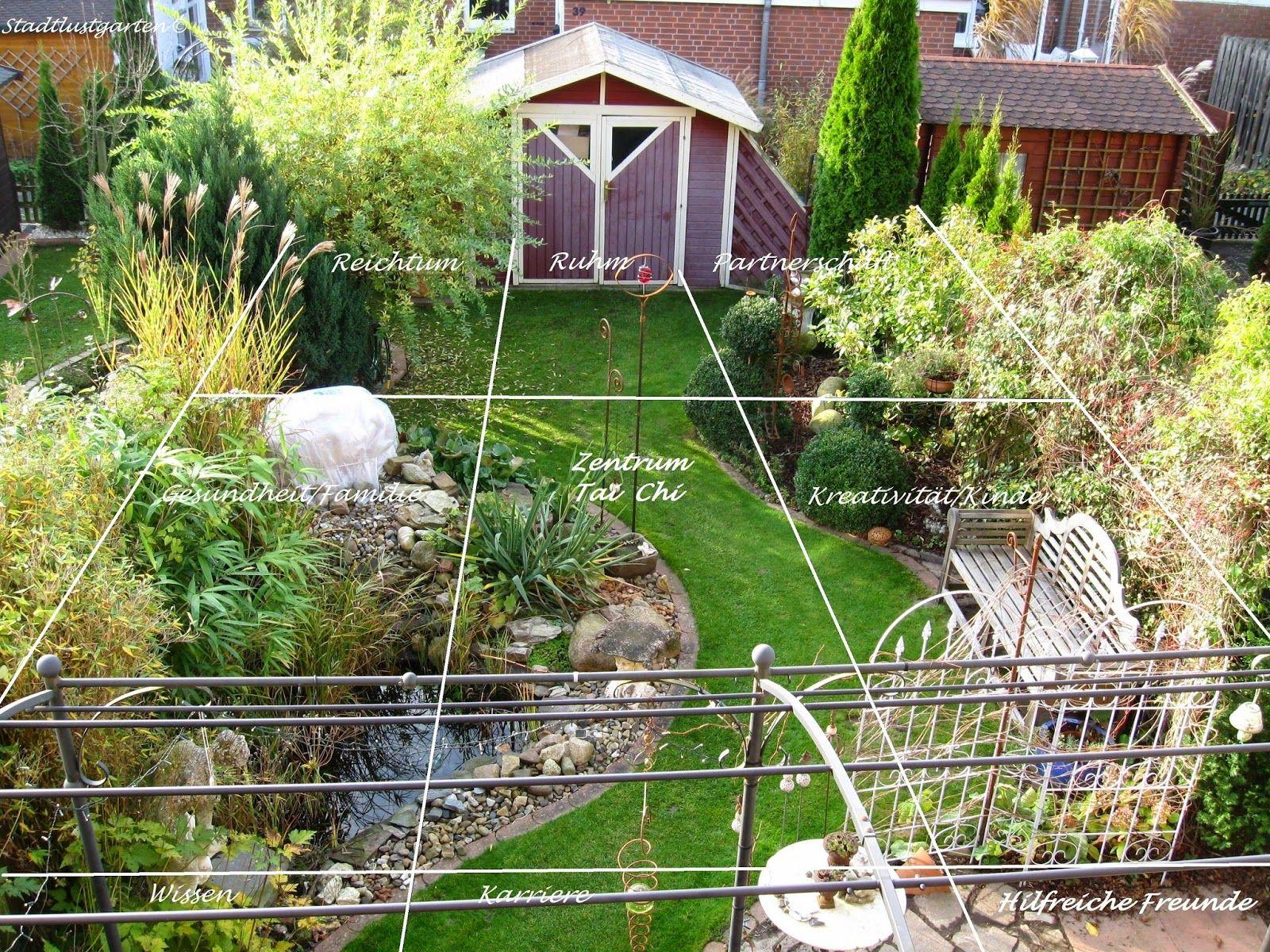 reihenhausgarten, feng shui im garten, harmonielehre, vorgarten, Hause und Garten