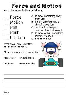 1st grade, 2nd grade, Kindergarten Science Worksheets: Following ...
