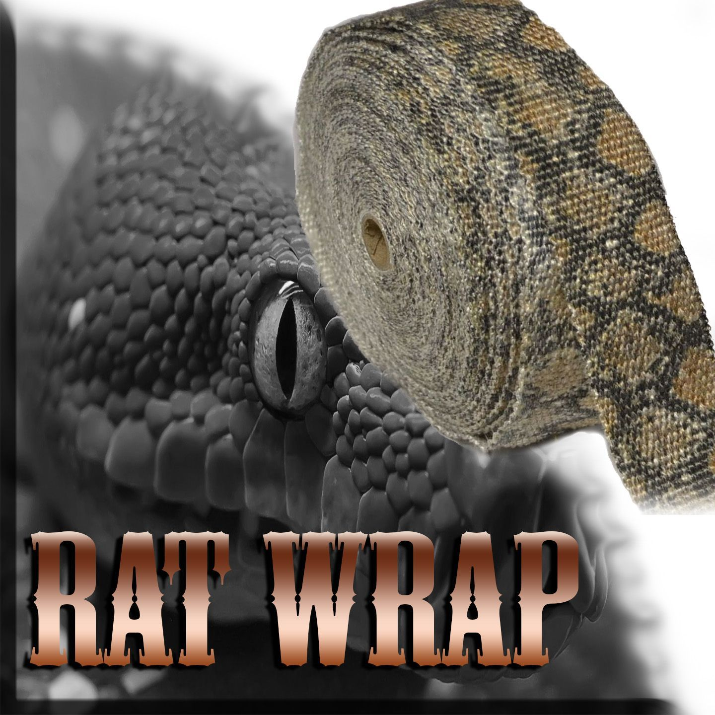 This Snakeskin Exhaust Wrap Is The Most Popular Rat Wrap