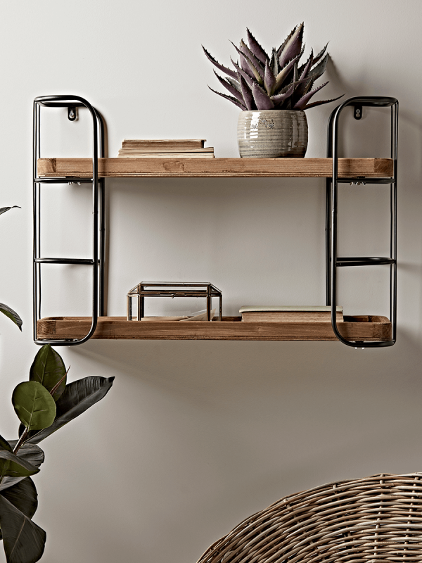 Rustic Shelf Unit Small Hall Cabinets In 2019 Wooden Shelves Kitchen Small Storage Shelves Shelves