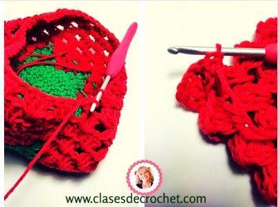 clases crochet, patrones gratis, agarradera crochet   Crochet ...