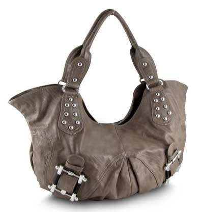 Makayla Hobo in tan from Bananas for Handbags