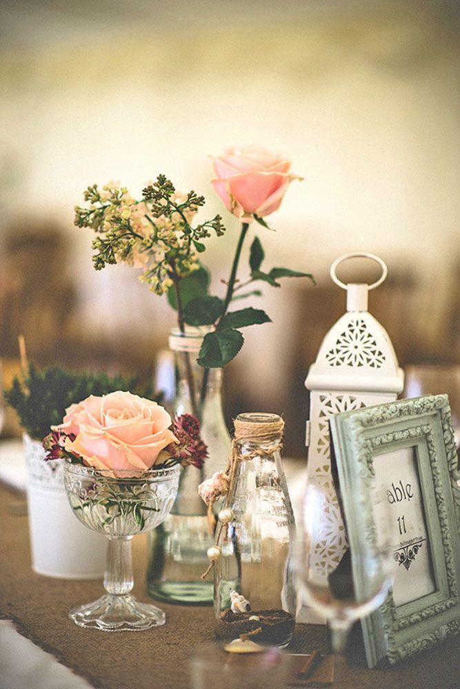 Shabby Chic Vintage Wedding Decor Ideas Vintage weddings