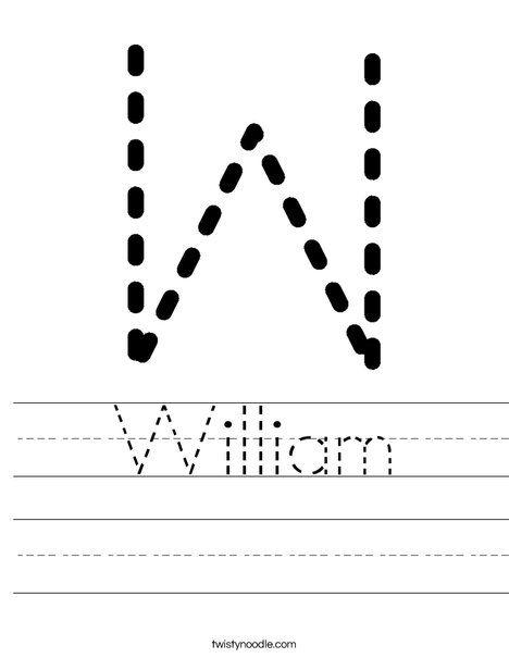 William Worksheet Twisty Noodle Worksheets Letter W Worksheets Handwriting Sheets Tracing letter w worksheets for