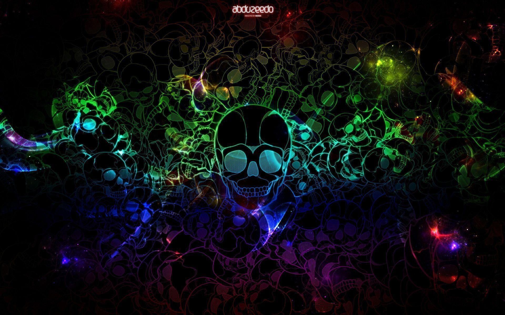 Cool Wallpapers For Laptop In 2020 Skull Wallpaper Cool Wallpapers For Laptop Neon Backgrounds