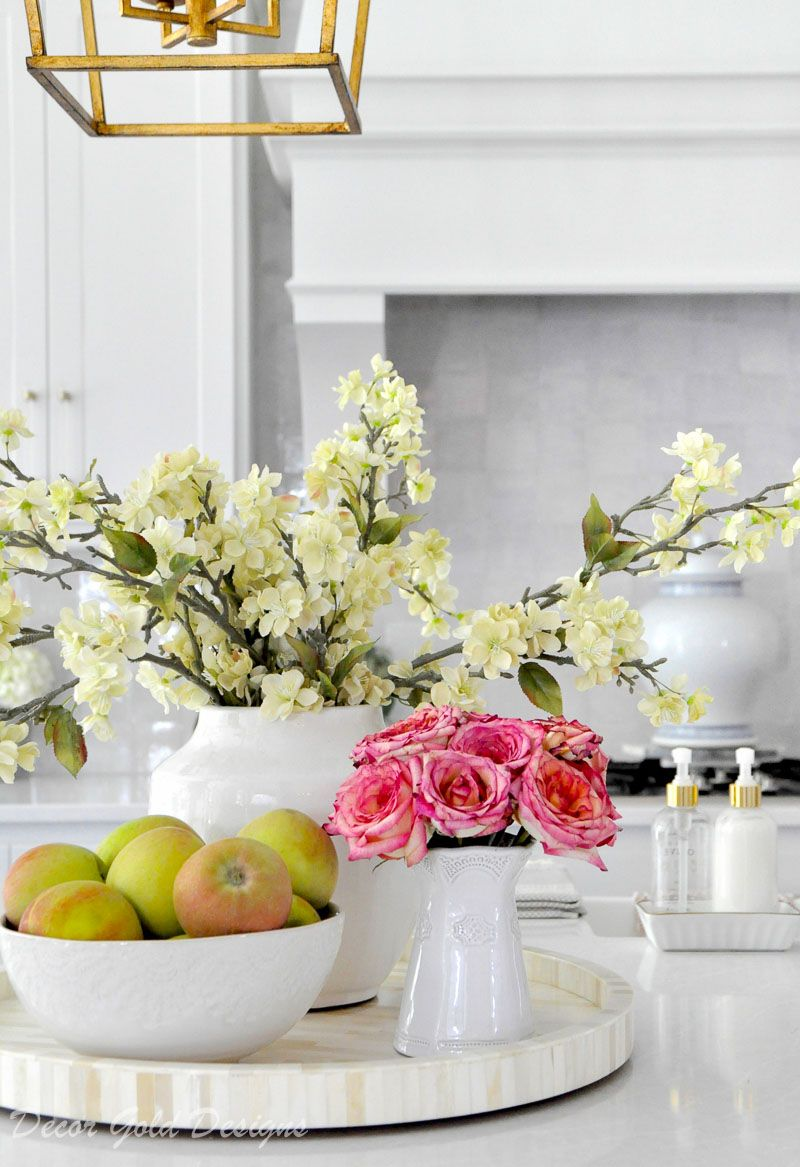 Ideas For Kitchen Counter Styling Kitchen Countertop Decor