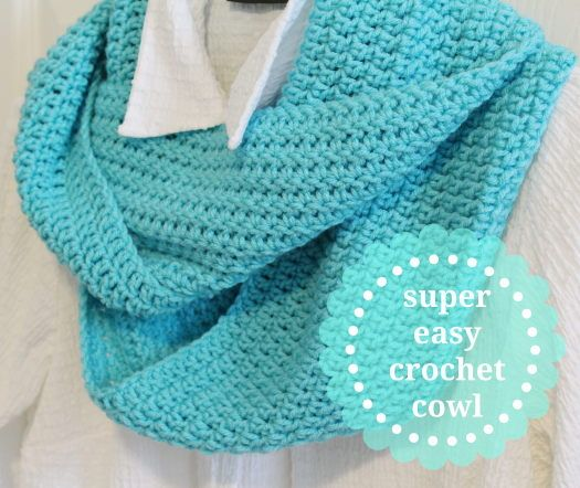 Instructions For Super Easy Crochet Cowl Notes Of Sincerity