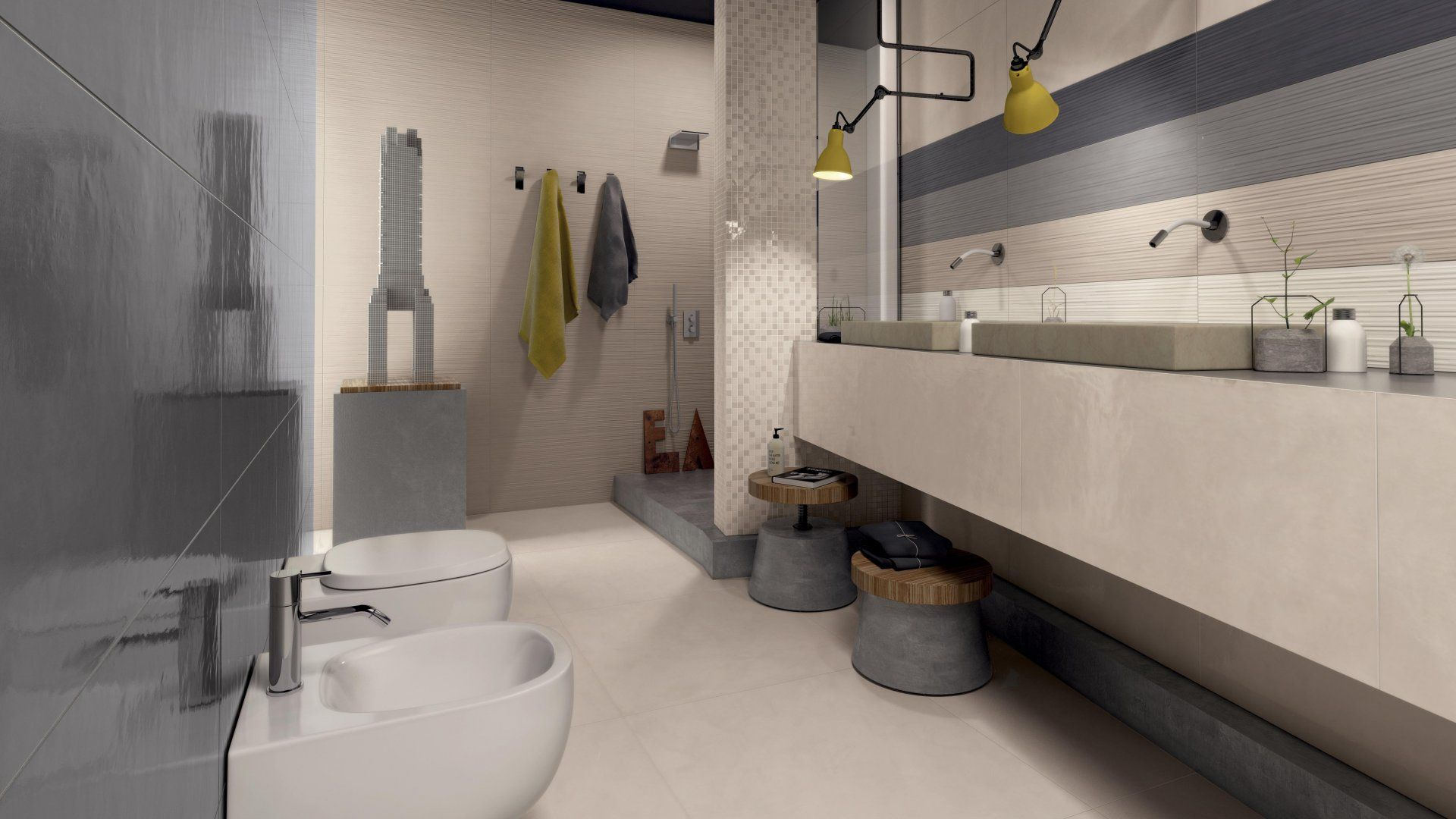 Marca Corona 1741 Work Wall Tiles Bathrooms Pinterest