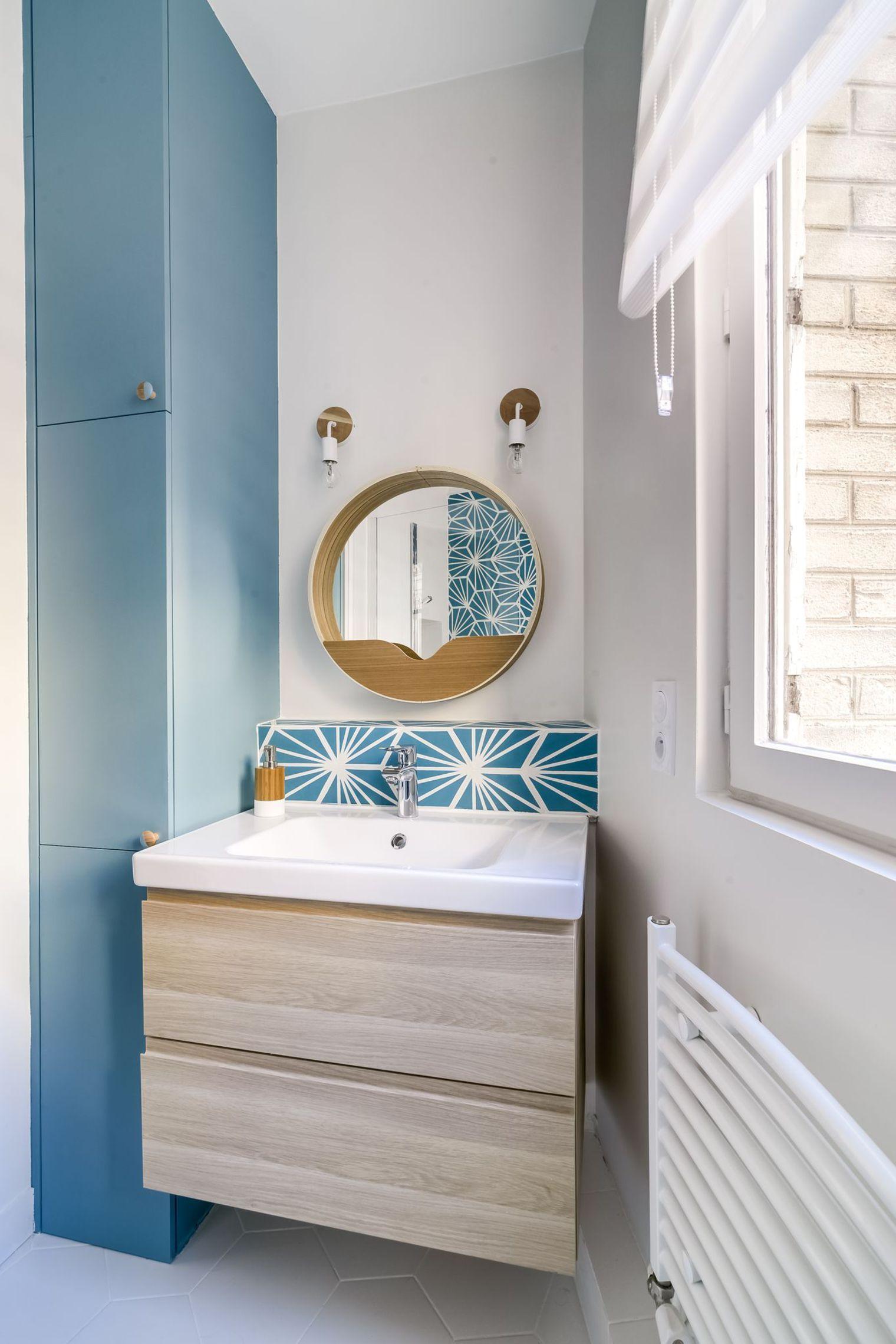 Appartement Paris 20 : 70 m2 pour un couple | Mosaics, Un and Paris
