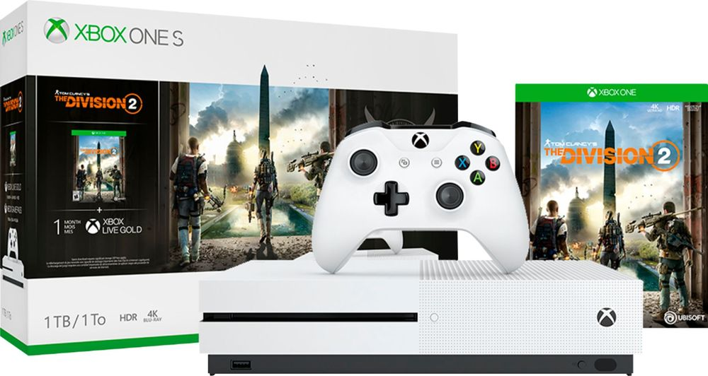 Microsoft Xbox One S 1tb Tom Clancy S The Division 2 Console