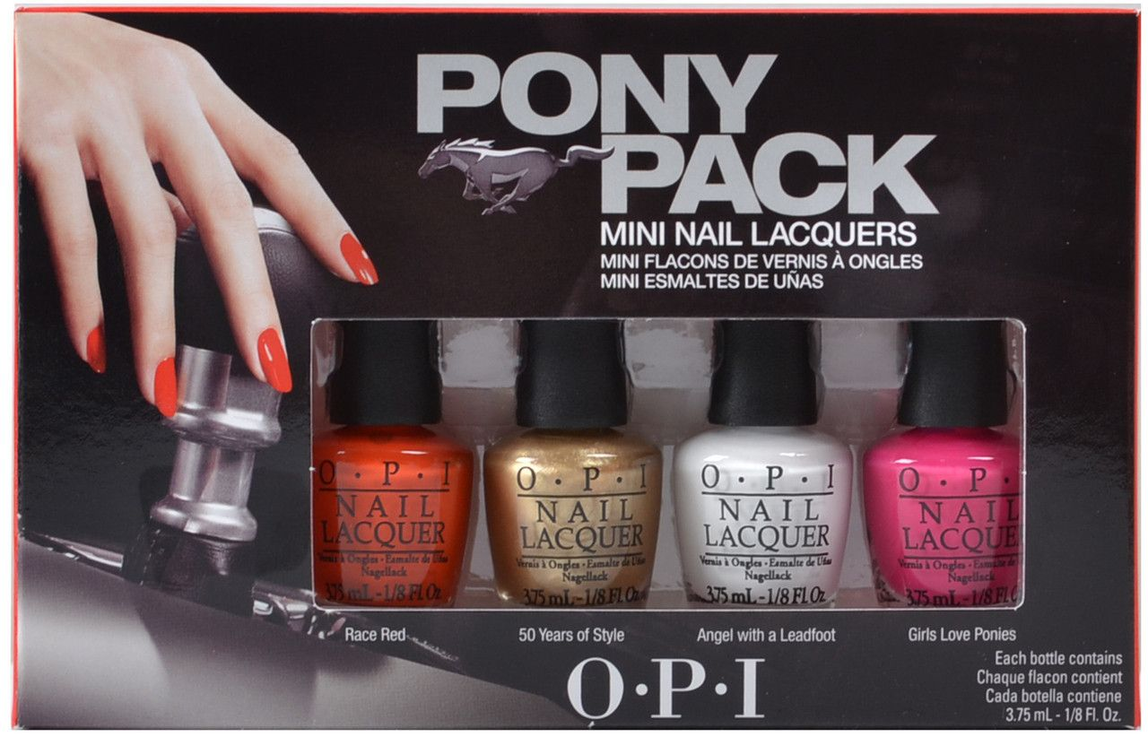 OPI Nail Lacquer - Pony Pack Mini (Ford Mustang 2014 Collection ...