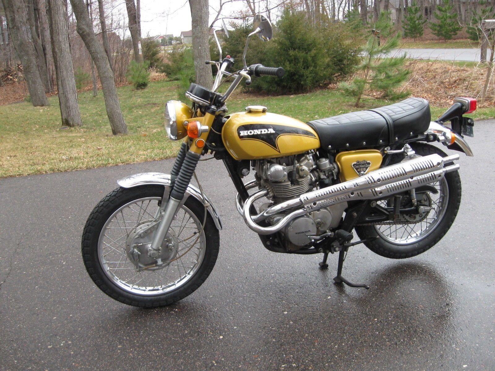 Details about 1971 Honda CL | Honda CL450 | Vintage honda