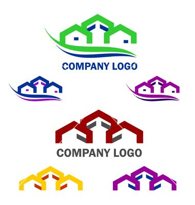 Home And Construction Logo And Web Icon Set Vector 1880015 By Eli Creative On Vectorstock
