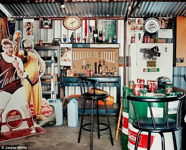 The ultimate man caves by Jasper White