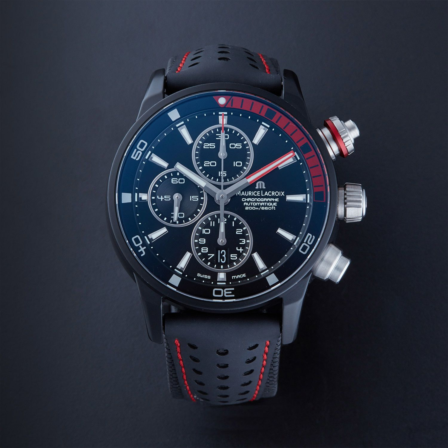 Maurice Lacroix:  Maurice Lacroix Pontos S Extreme Limited Edition Automatic // PT6028-ALB01-331