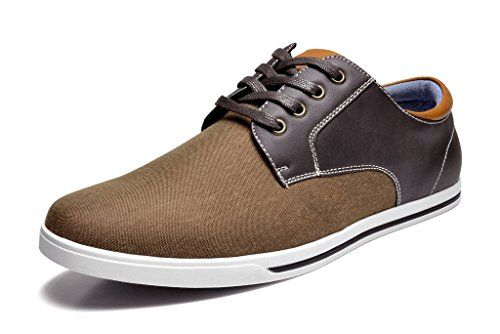 Bruno MARC RIVERA-01 New Men's Classic Lace Up Casual Oxfords Sneakers Shoes DARK BROWN SIZE 7