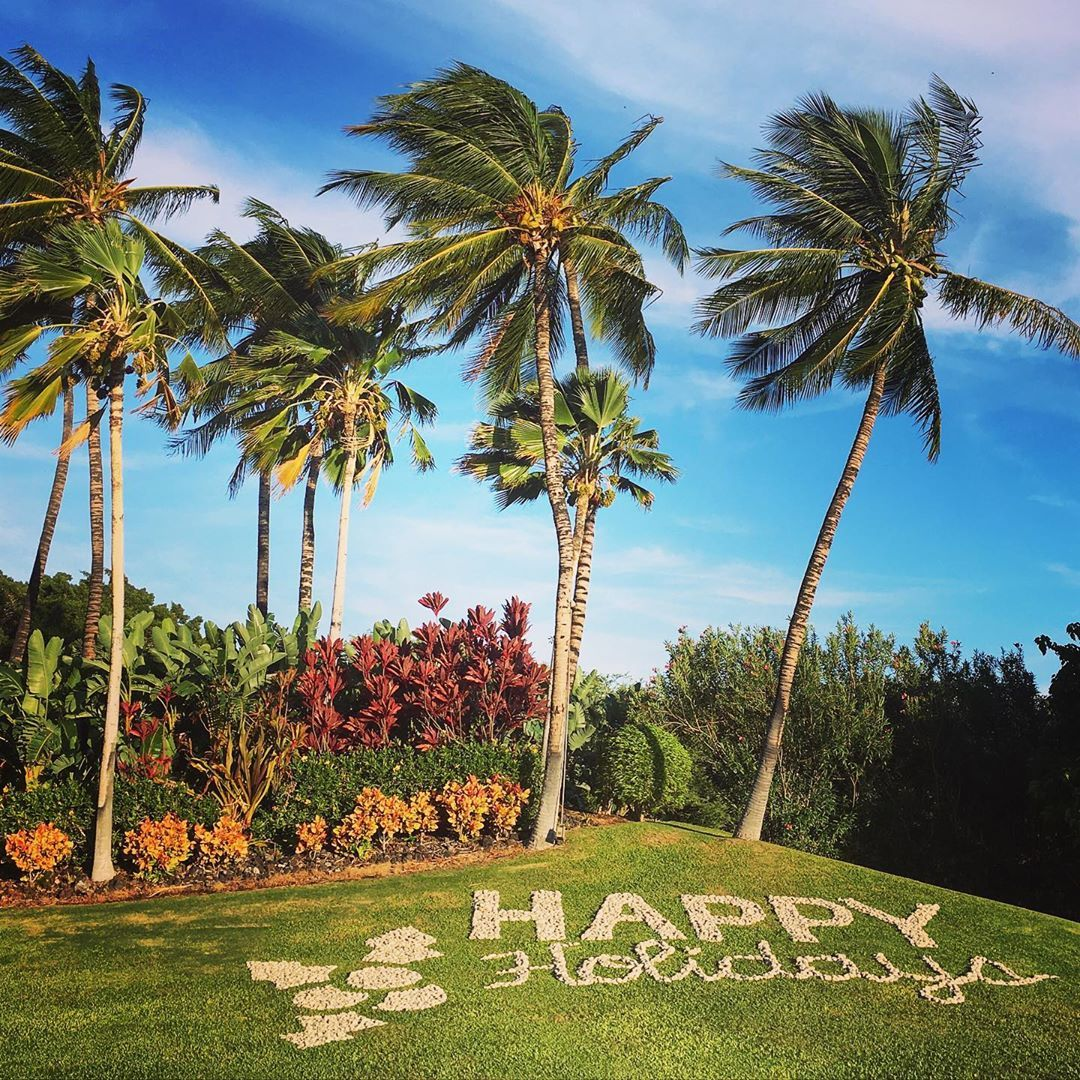 "Jörg Michel 🌴 on Instagram: ""Wishing everyone #happyholidays from #hawaii 🎅🌴🏖 #gohawaii #merrychristmas #lethawaiihappen #froheweihnachten #waikoloa #melekalikimaka"""