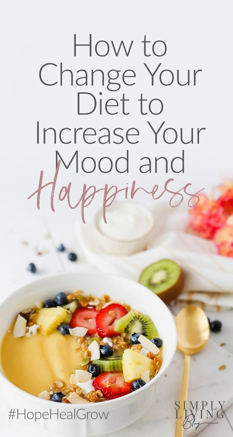 Can You Eat Yourself Happier? What to eat to increase your happiness.