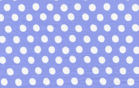 Kaffe Fassett Spot Polka Dot Fabric China Blue by AllegroFabrics