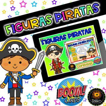Figuras Piratas (Boom Cards)