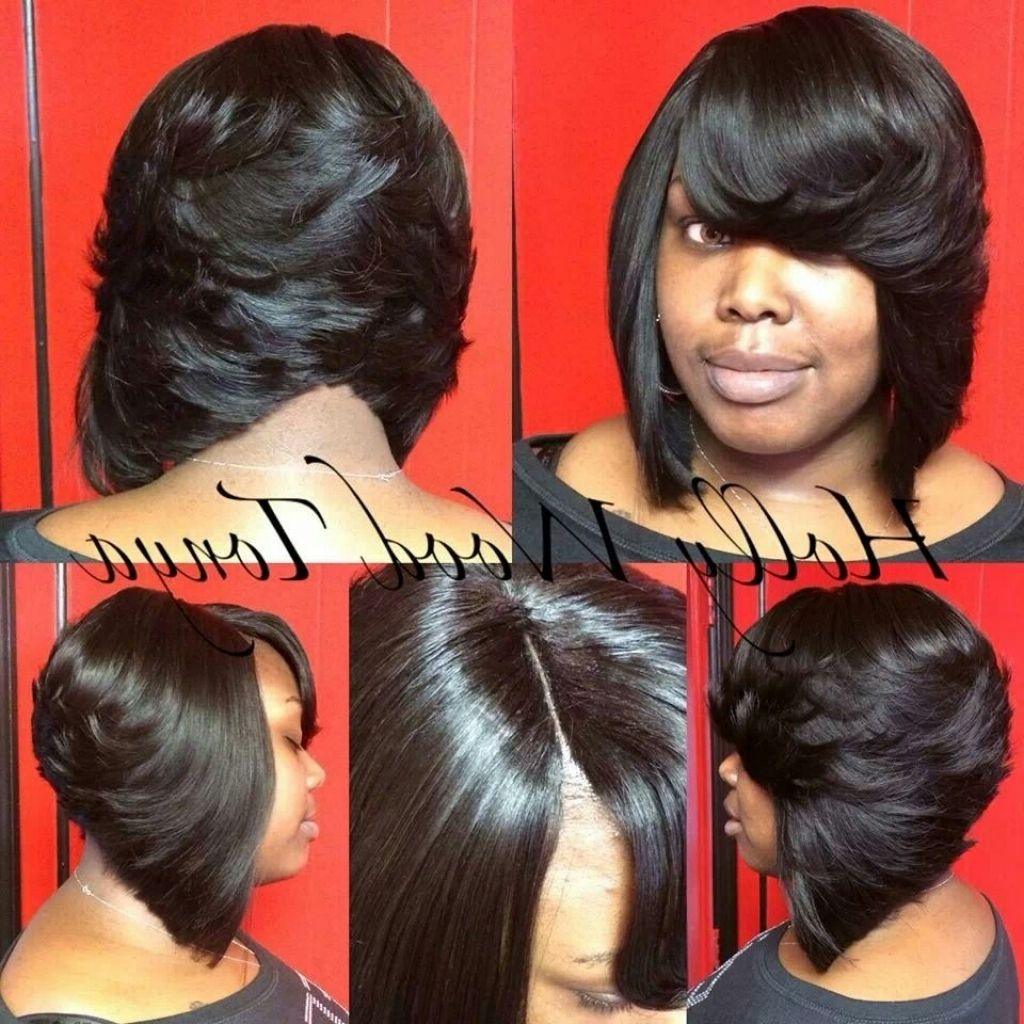 Feathered Bob Quick Weave Google Search Long Hairstylesquick