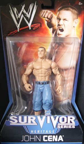 John Cena - WWE Pay Per View 11 Toy Wrestling Action Figure by Mattel'