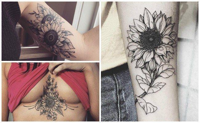 Tatuajes De Girasoles En El Antebrazo Tattoo Tatuajes Girasoles