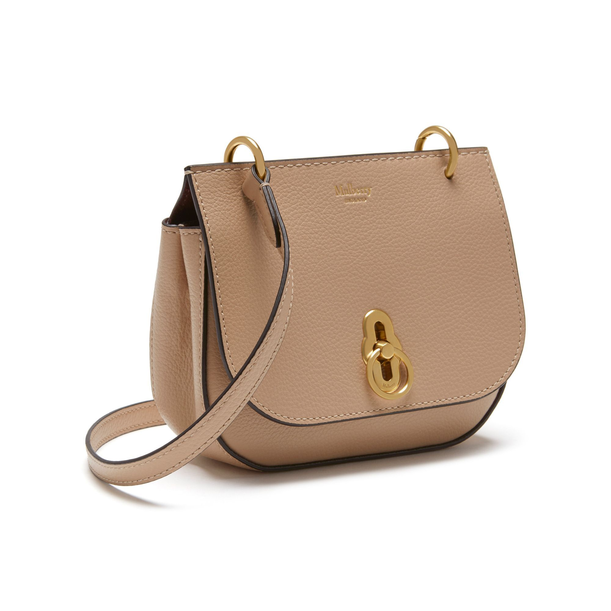 47ee4ba5d160 Shop the Mini Amberley Satchel in Rosewater Small Classic Grain Leather at  Mulberry.com. Meet the miniature addition to the Amberley family.