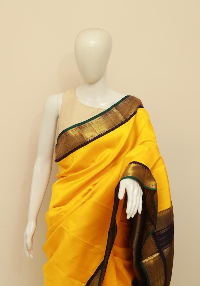 7b7501f9b7edeb Kanchipuram Silk Saree – Desically Ethnic | kanchipuram sarees in ...