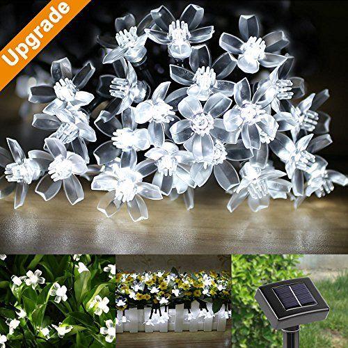 LE® Solar Flower Fairy String Lights 50 LEDs 165ft , Waterproof