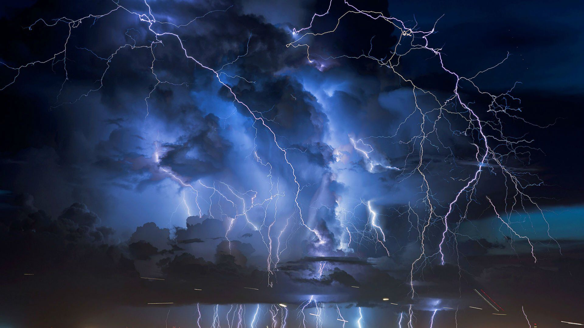 STORM weather rain sky clouds nature lightning city cities