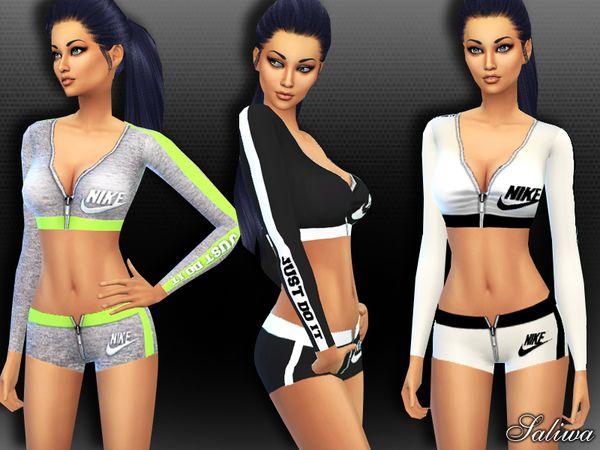 Saliwa s Nike Air Athletic Outfit  0ed96659f