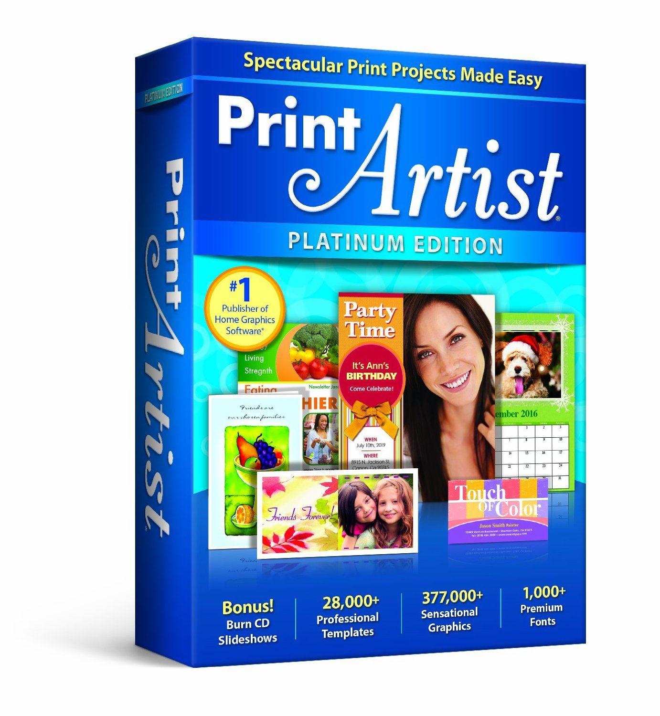 Print Artist Platinum 25 (With images) Print artist